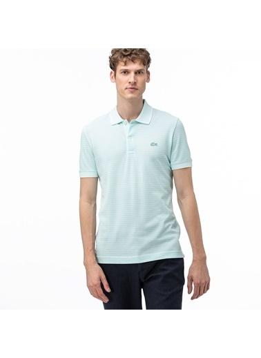 Lacoste Erkek Regular Fit Tişört PH5055.U3Y Mavi